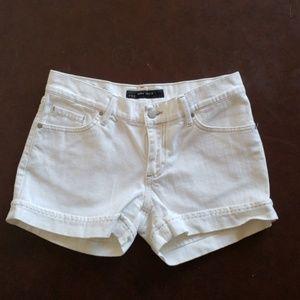 Zara Basics White Shorts